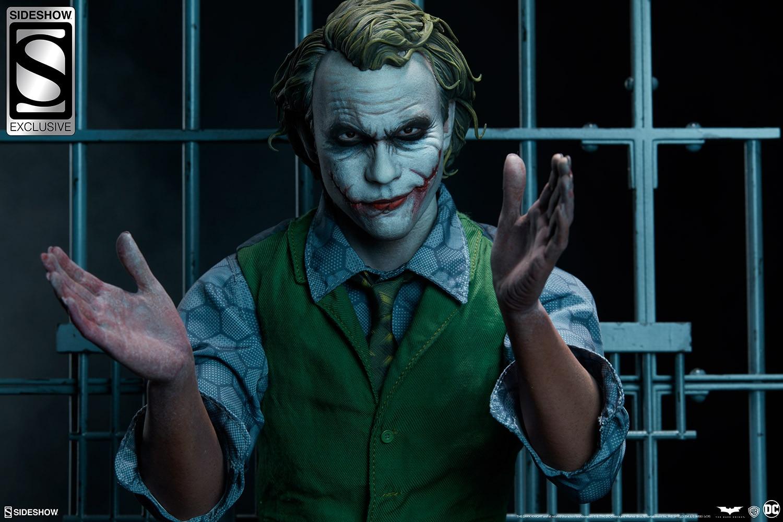 Sideshow představili The Joker Premium Format™ sochu