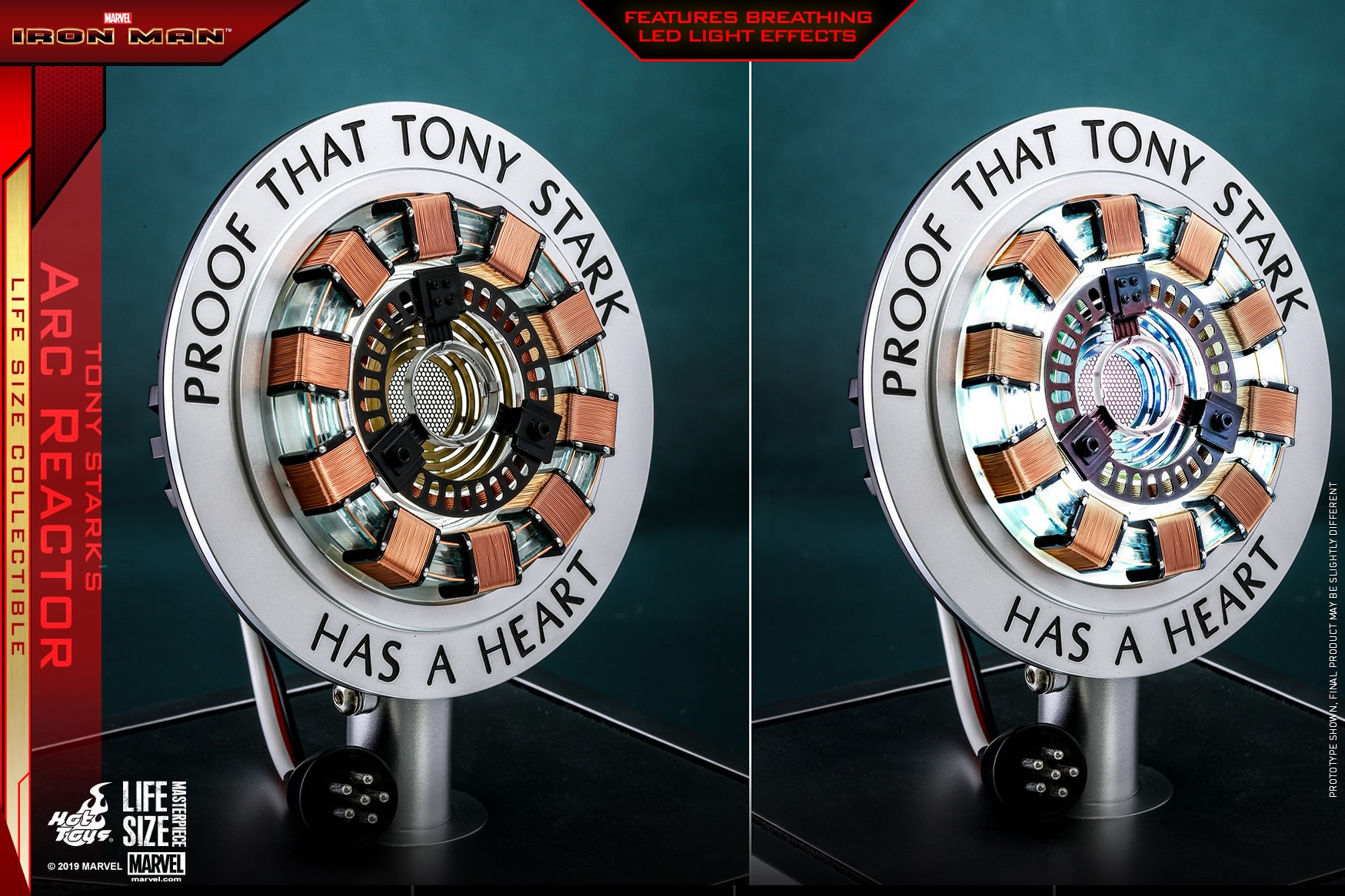 Hot Toys LMS 12 Iron Man – Tony Stark's Arc Reactor