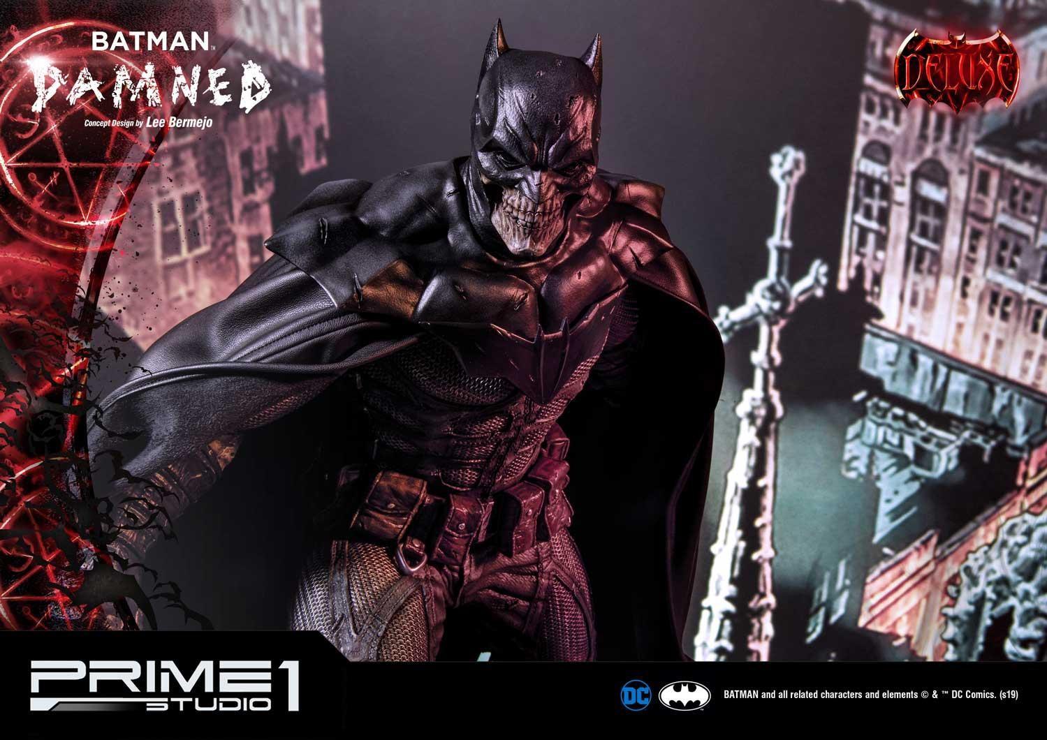 MMDC-39DX: BATMAN DAMNED Concept Design by Lee Bermejo