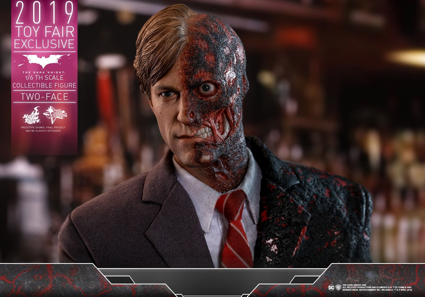 Hot Toys oznámili Two Face MMS 546