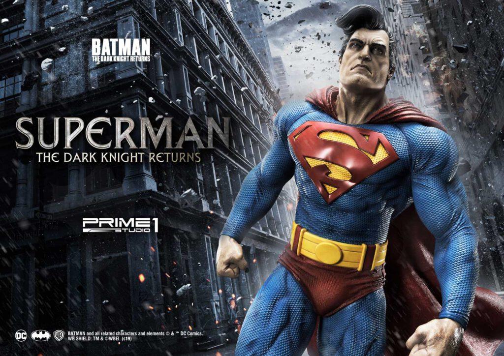 The Dark Knight Returns – Superman 1:3 Scale statue