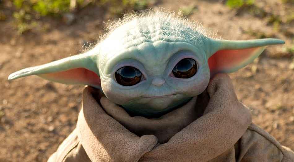Baby Yoda od Sideshow a Hot Toys