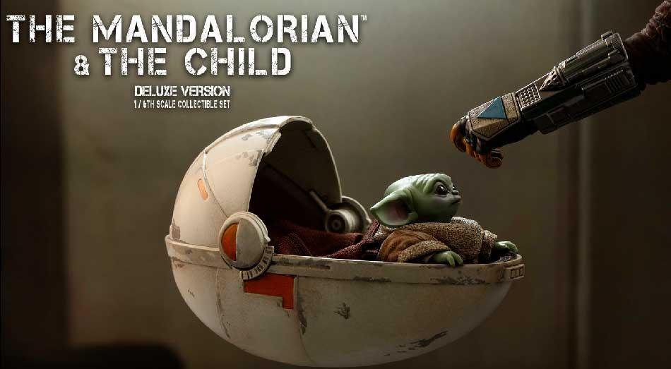Hot Toys představili nového Mandaloriana a The Child