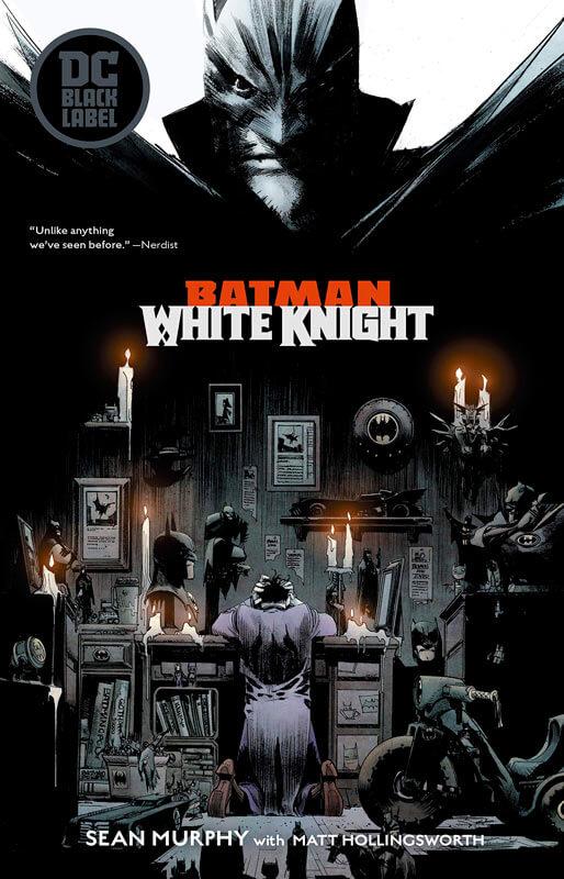 Anglická verze obálky Batman: White Knight