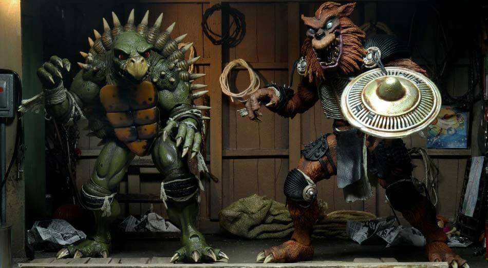 Neca oznámila termín vydání a detaily k TMNT II: The Secret of the Ooze – Tokka and Rahzar