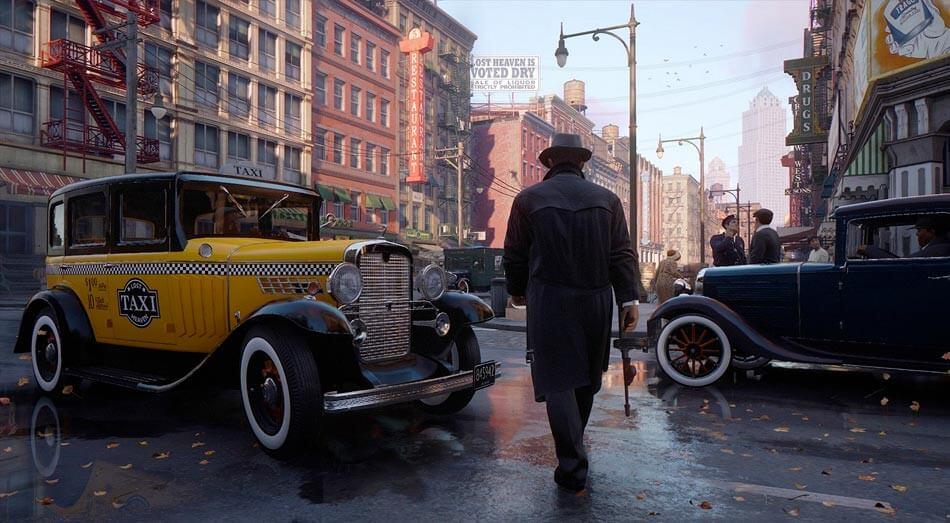 První gameplay záběry z remaku Mafie