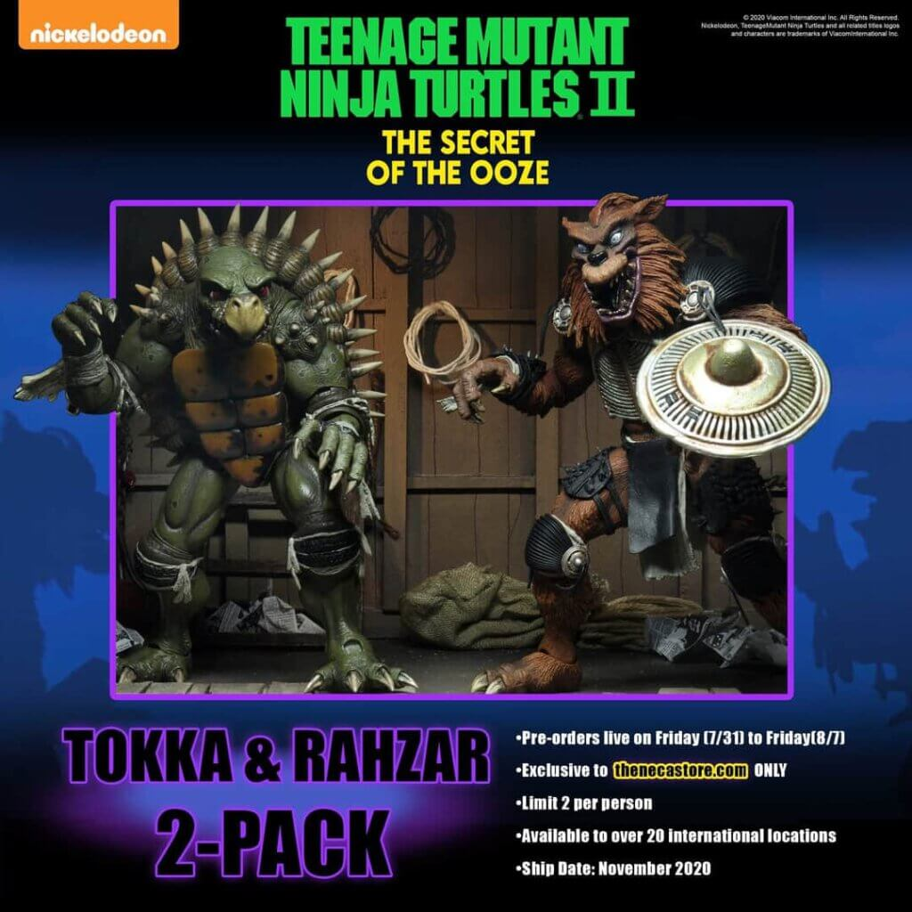 TMNT II: The Secret of the Ooze – Tokka and Rahzar