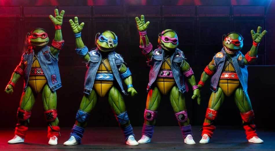 Želvy Ninja jedou na turné