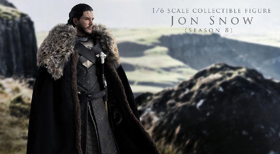 1/6 ThreeZero Jon Snow (Season 8)