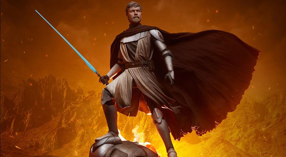 Další Mythos sochou od Sideshow je Generál Obi-Wan Kenobi