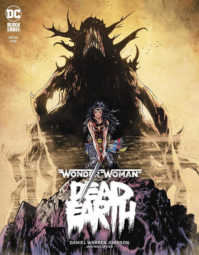 Obálka anglické verze Wonder Woman: Dead Earth © DC Comics