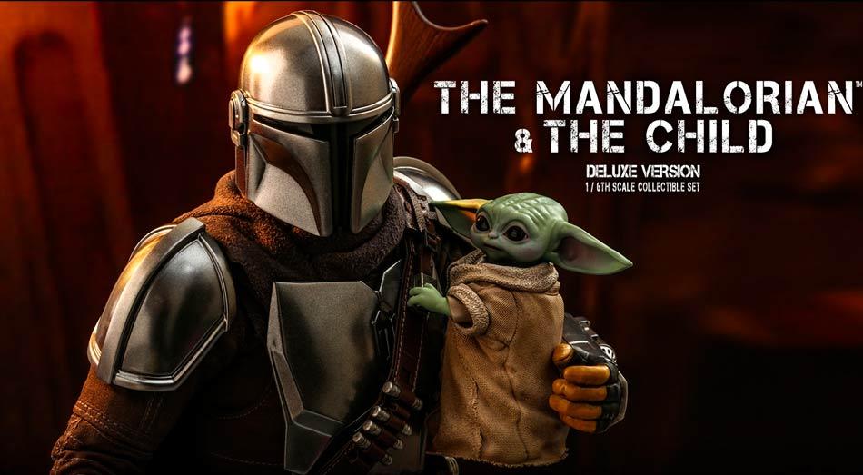 Recenze Hot Toys TMS 15: Mandalorian & Grogu