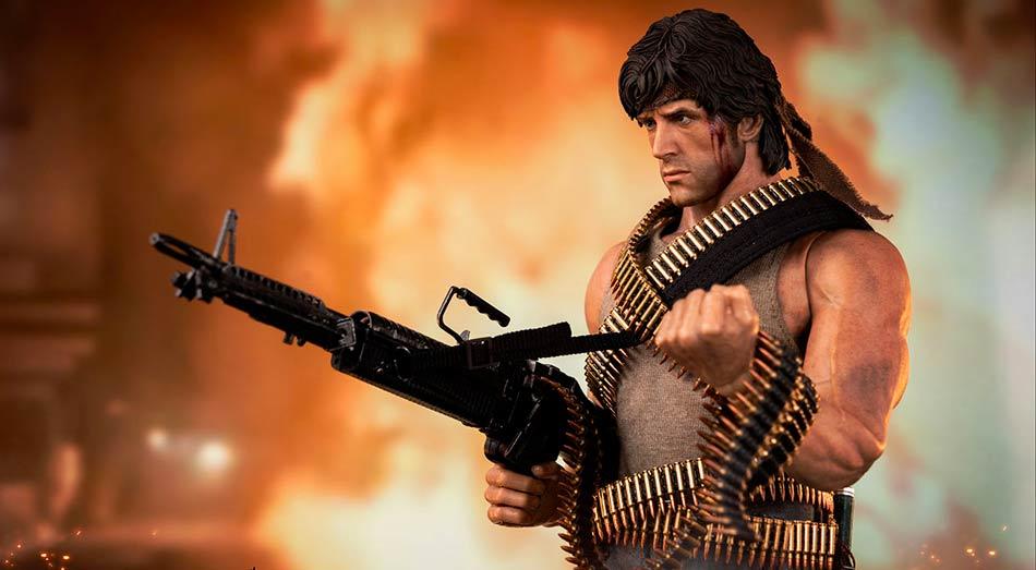 ThreeZero spouští předobjednávky na 1/6 Rambo: First Blood